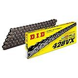 D.I.D(大同工業)バイク用チェーン 軽圧入クリップジョイント付属 428VX-130FB STEEL(スチール) X-リング 二輪 オートバイ用