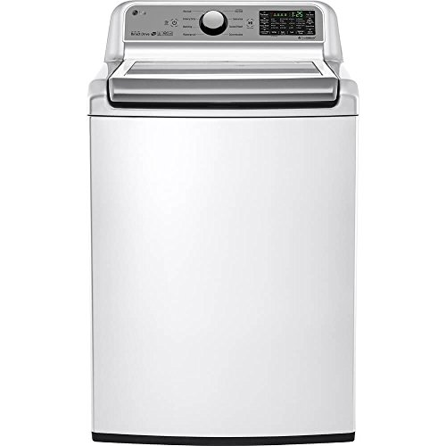 LG WT7200CW/WT7200CW/WT7200CW 5.0 Cu. Ft. High Efficiency Top Load White Washer