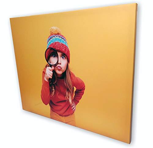 Grandes Impresiones, Cuadro Foto en Lienzo Personalizado on-Line Impresión Digital Montado, Listo para Colgar (70 x 50 cm)