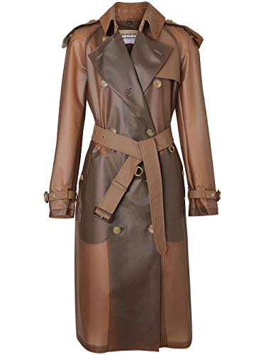 Luxury Fashion | Burberry Dames 8016925 Bruin Polyurethaan Trenchcoats | Herfst-winter 19