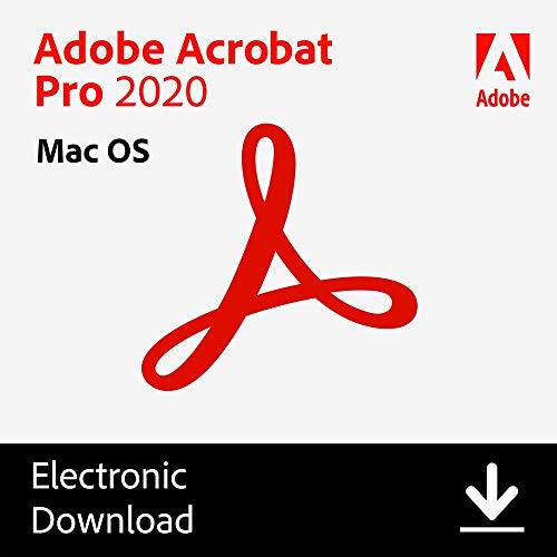 Adobe Acrobat Pro 2020 [Mac Online Code]