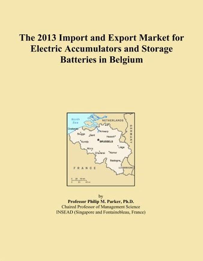 モナリザスムーズに支援するThe 2013 Import and Export Market for Electric Accumulators and Storage Batteries in Belgium