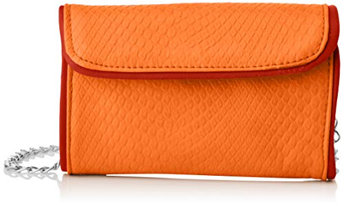 SwankySwans Molly, Bolsa de embrague para Mujer, Orange, One Size