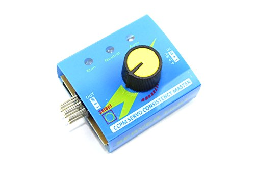 3Kanal Servo Tester Manuelle Neutral Automatische CCPM Sweep verbunden Heli RC