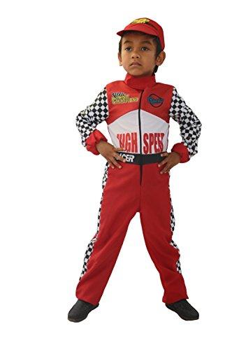 Cesar F659disfraz piloto 3/5años (una combinación rojo y una gorra a juego, 3A 5años , color/modelo surtido