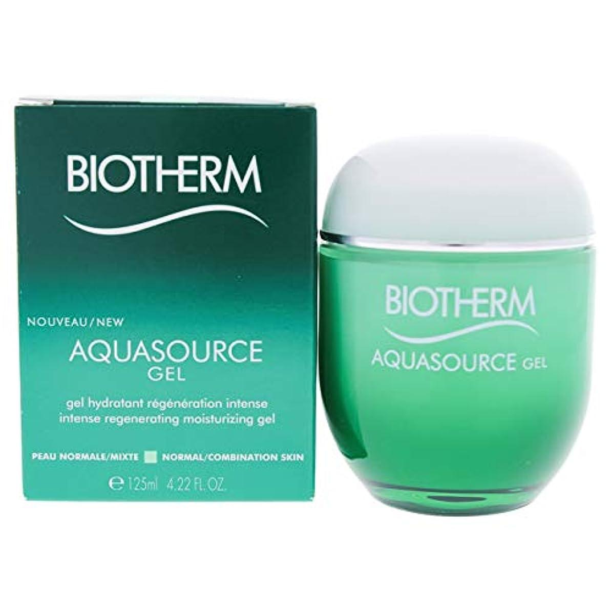 ベルベット献身コールドビオテルム Aquasource Gel Intense Regenerating Moisturizing Gel - For Normal/Combination Skin 125ml/4.22oz並行輸入品