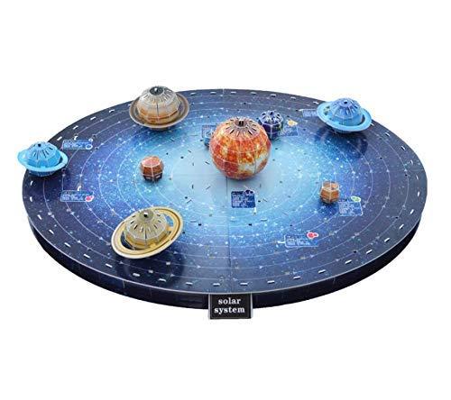 Space Puzzle 3D Planets