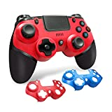 LIMIAO PS4-Controller, Wireless Controller-Gamepad für Playstation 4 / Switch mit Audiofunktion,...