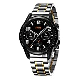 BINLUN Cinturini compatibili con Huawei GT / GT2 42mm 46mm / Huawei Watch 2 Classic/Sport Smartwatch Cinturino in acciaio inossidabile 20mm 22mm Cinturini per orologi in metallo Affari per uom