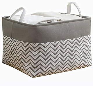 YLKCU Caisses de Rangement Boîte de Rangement Tissu Enfants Snack Jouets boîte de Rangement Pliable Panier bébé vêtements ...