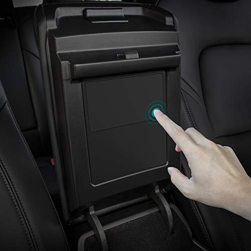 TAPTES Tesla Model 3 Model Y Center Console Organizer, Armrest Hidden Storage Box for Tesla Model 3...