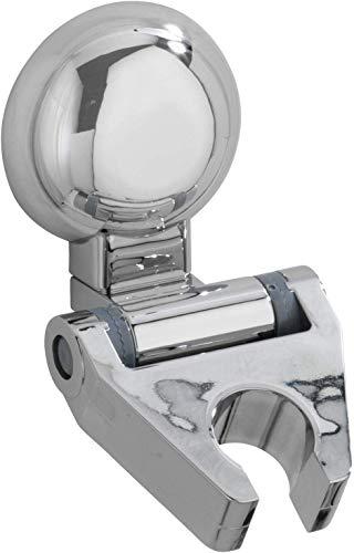 WENKO Magic-Loc Duschkopfhalter Fiorina - Universal-Handbrause, Duschbrause mit 5 Strahlarten, Kunststoff, 6 x 8 x 9 cm, Chrom