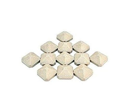 Twin Eagles BBQ Grill Ceramic Briquettes, (12 Pack) BCPS13129-12 OEM