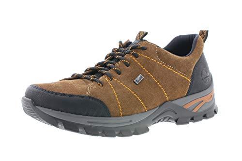 Rieker Hombre Zapatos con Cordones, de Caballero Zapatos Deportivos,Calzado,Calzado de Exterior,Deportivo,Ocio,riekerTEX,Schwarz,41 EU / 7.5 UK