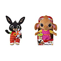 Product 1: AROUND THE CORNER, NOT FAR FROM HERE WE'RE PLAYING WITH BING AND HOPPITY TODAY Based on the much-loved characters from the hit CBeebies show BING Product 1: OFFICIAL LICENSED PRODUCT Product 1: OVER 15 FUN PHRASES TO ENJOY: Light-up Talkin...