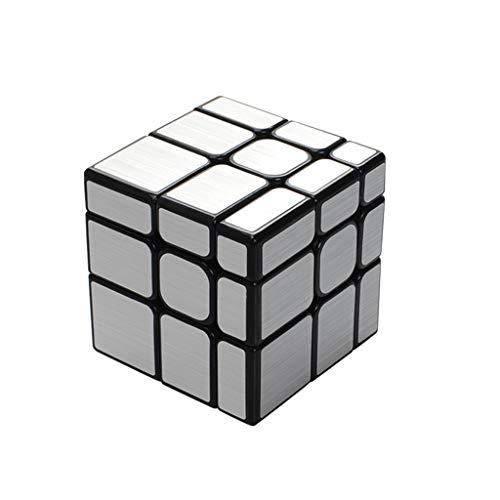HZZ Speed Cube 5.6 × 5.6 × 5.6 Pegatina De Fibra De Carbono Smooth Magic Puzzle Cube Puzzle 3D Juguetes para NiñOs Y Adultos
