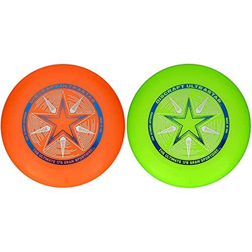 Discraft - Juguete De Aire Libre (802001-007) + Ultra Star - Disco Volador Tipo Frisbee De 175Gramos