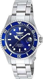 ساعة للرجال بمينا ازرق وسوار ستانلس ستيل من انفيكتا - INVICTA-9204OB
