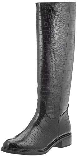 Tamaris Damen 1-1-25547-25 Kniehohe Stiefel, grau, 39 EU
