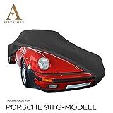 Star Cover AUTOABDECKUNG SCHWARZ Porsche 911 (901) SCHUTZHÜLLE ABDECKPLANE SCHUTZDECKE