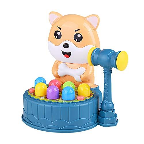 DIII Juego de juguete para niños de 2 a 3 años de edad, niños y niñas, habilidades motoras finas Montessori, juguetes de martillo para niños regalo de cumpleaños