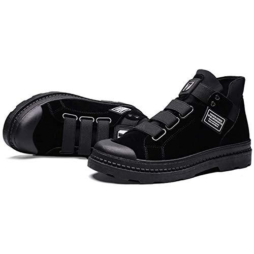 WDZJM Calzado de Ciclismo, Botas de Carreras Impermeables y Anti-caída para Hombres, Zapatos Casuales para Exteriores para Ciclistas Todoterreno (Color : B, Size : 42)