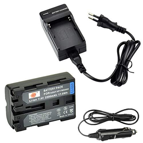 DSTE Ersatz Batterie und DC01E Reise Ladegerät Kompatibel für Sony A57 A58 A100 A200 A200W A300K A300X A350 A350H A350K A350X A450 A500 A550 A560 A580 A700 A700K A700P A700Z Alpha A99 II
