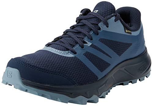 Salomon Damen Trail Running Schuhe, TRAILSTER 2 GTX W, Farbe: blau (navy blazer/sargasso sea/flint stone) Größe: EU 40 2/3