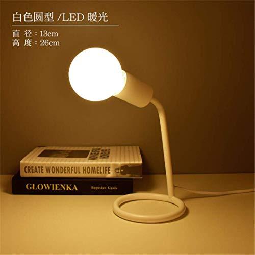 YB nachtlampje, Scandinavisch licht, creatief, mode, persoonlijkheid, lief licht, warm, romantisch, voor bruiloftskamer, slaapkamer, tafellamp, bedlampje