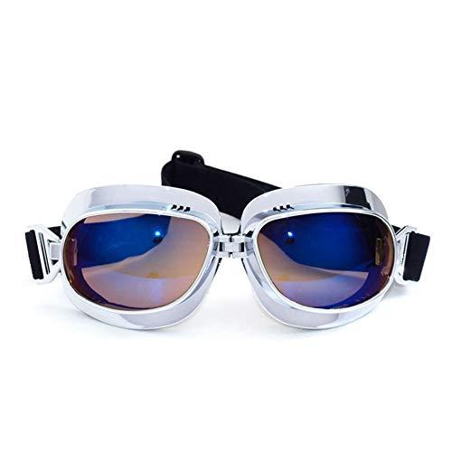 Gafas de Motocicleta Vintage Gafas Steampunk claras Gafas de Sol Deportivas para Motocicleta Cafe Racer Dirt Bike Cruiser