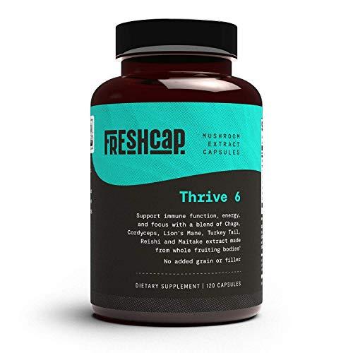 Thrive 6 Mushroom Complex - 120 Capsules - Lion