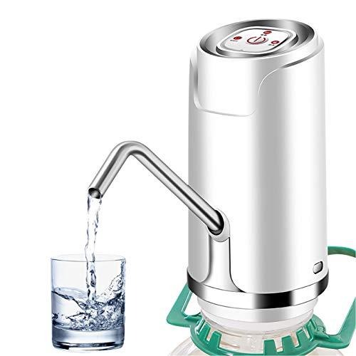 OurLeeme Wasserflaschen Pumpe, Elektrische Trinkwasserpumpe Wasserspender für Trinkwasser automatische Trinkwasserpumpen-Spender USB-angetriebene Wasserspenderpumpe