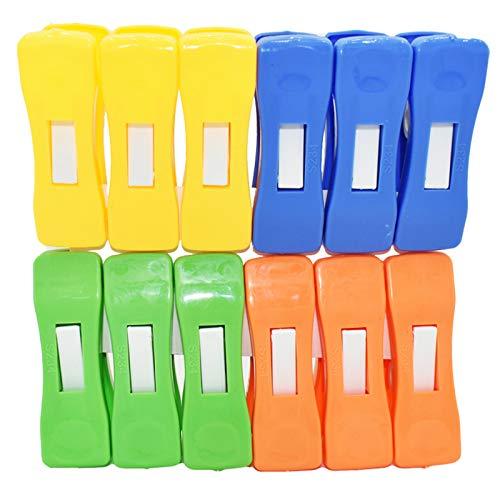 NA/ 48 pinzas de ropa de plástico resistente para tendedero