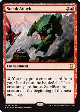 Magic: the Gathering - Sneak Attack (148/249) - Eternal Masters by Magic: the Gathering