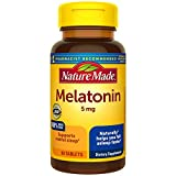 Nature Made Melatonin 5mg Tablets, 90 Count for Supporting Restful Sleep