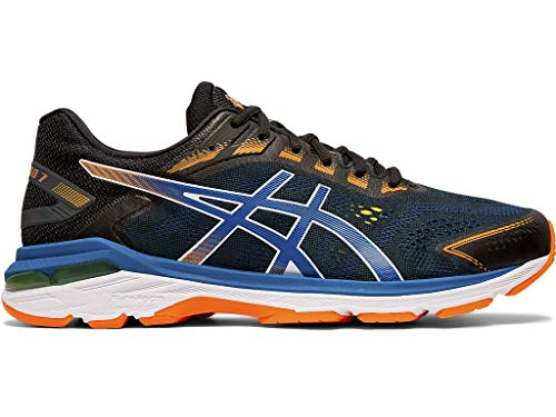 ASICS Men's GT-2000 7 SP Running Shoes, 9.5M, Black/Lake Drive