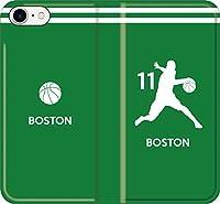 【全機種対応】 iPhone スマホケース バスケ(アウェイ ボストン 11番 A)カイリー アービング セルティック 16 iPhoneSE(2020)