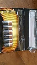 powerful LED EDC flashlight + camping flashlight, bright flashlight
