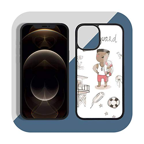 Funda de teléfono para iPhone 11 12 Pro XS MAX 8 7 6 6S Plus X 5S SE 2020 XR Hard PC-a12-iPhone11pro