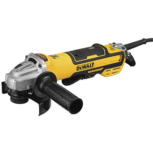 DEWALT Grinder, Variable Speed, Paddle Switch, 5-Inch (DWE43214NVS)