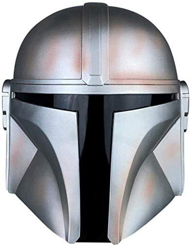 Mandalorian Helmet Halloween Mask Cosplay Jedi Full Head PVC Masks Halloween Party Props Men