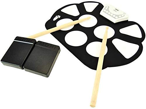 Instrumento musical de la mano del tambor de batería electrónica rollo infantil,...