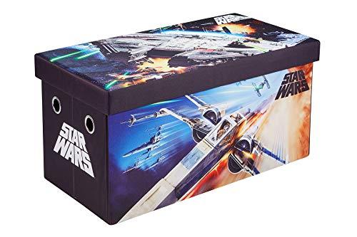 "Star Wars Storage Box, 30"" Bench and Toy Organizer"