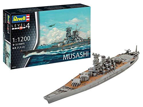 Revell REV-06822 Musashi Toys, Mehrfarbig, 1/1200