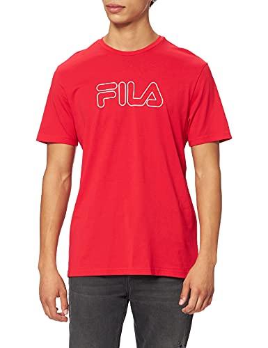 Fila Paul Camiseta, Color Rojo, XS para Hombre