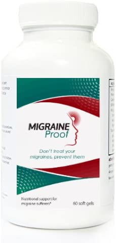Migraine Proof with Vitamin B2 and Caps Daily bargain sale Gel Mesa Mall Oil Fish 60
