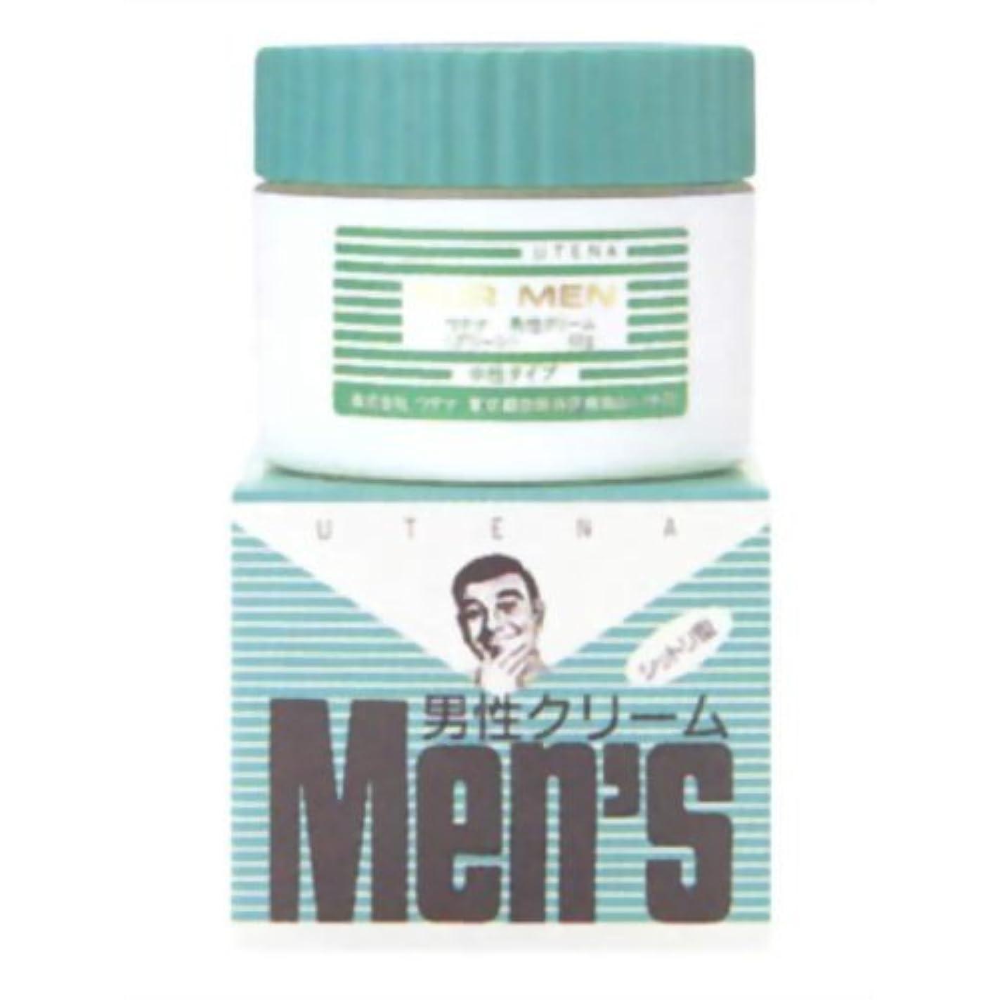 スキャンダラス精緻化血まみれウテナ男性クリーム グリーン60G × 10個セット