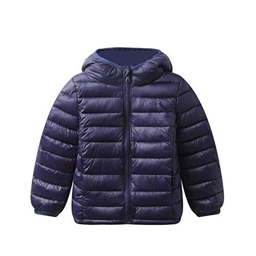 QBKYRF Chaqueta de Plumas para Hombre///Fashion Boutique Color s/ólido/Chaqueta para Hombre Casual/Ligera y Delgada Pato Blanco Pato Grande