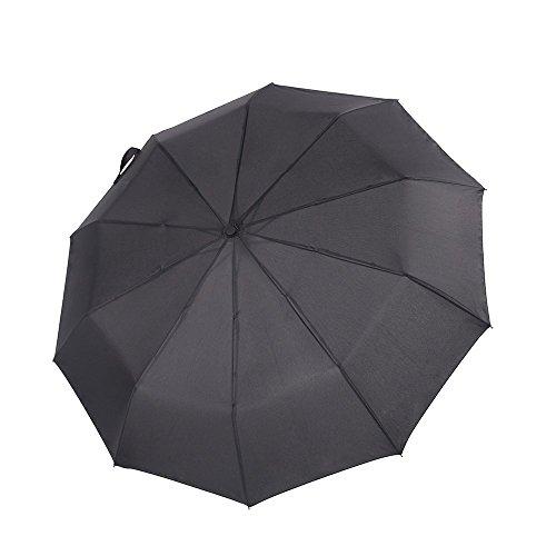 Ecourban 60 mph Paraguas a Prueba de Viento No rompible 10 Costillas...