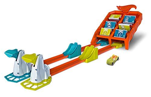 Hot Wheels GBF89 - Powersprung Challenge Trackset, Spielzeug ab 4 Jahren